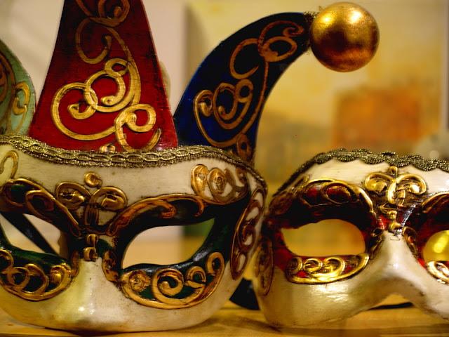 Máscaras Venecianas por El Guisante Verde Project