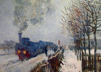 Claude-Monet-el tren-en-la-nieve-la-locomotora-museo-marmottan-monet-paris