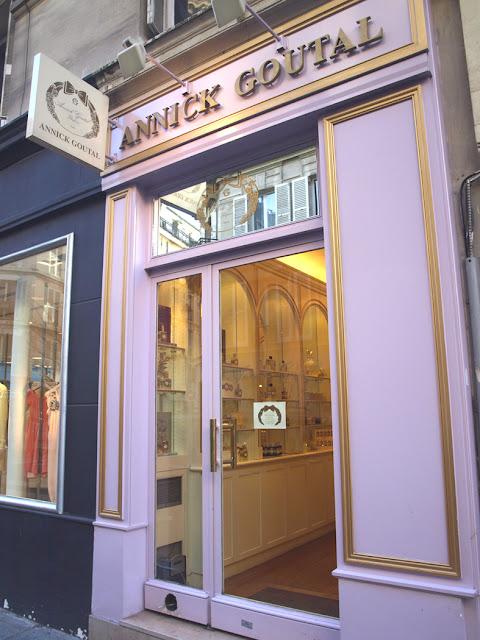 Tienda de Annick Goutal en Paris