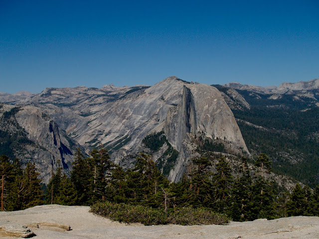 Vista del Half Dome desde Glacier Point