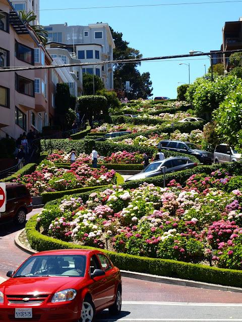 Lombart Street en San Francisco