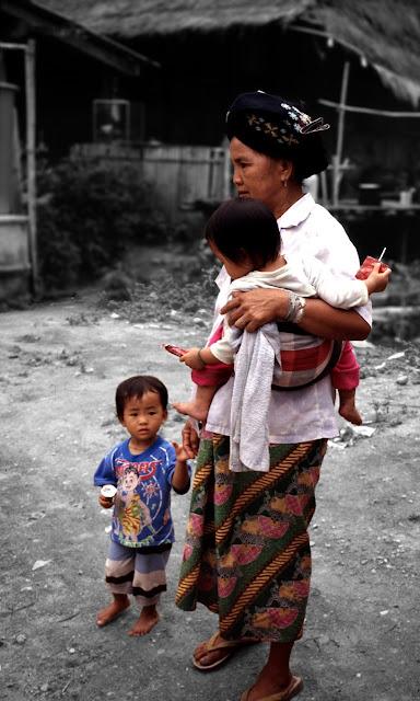 Familia Yao en Tailandia