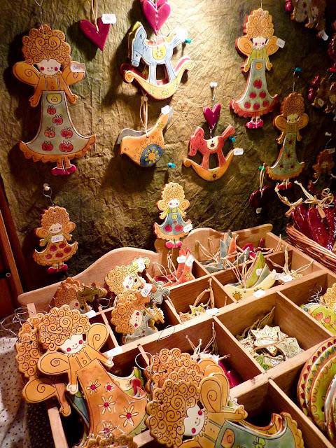 Adornos para Navidad en Vorosmarty