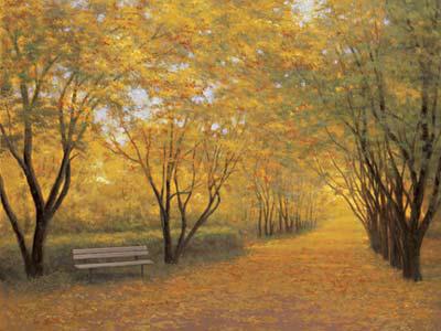Autumn Gold by Diane Romanello