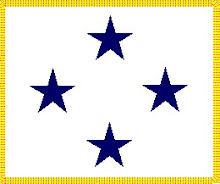 Restricted Line Four Star Flag