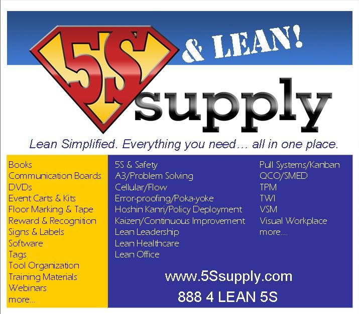 A Lean Journey: 5S Supply