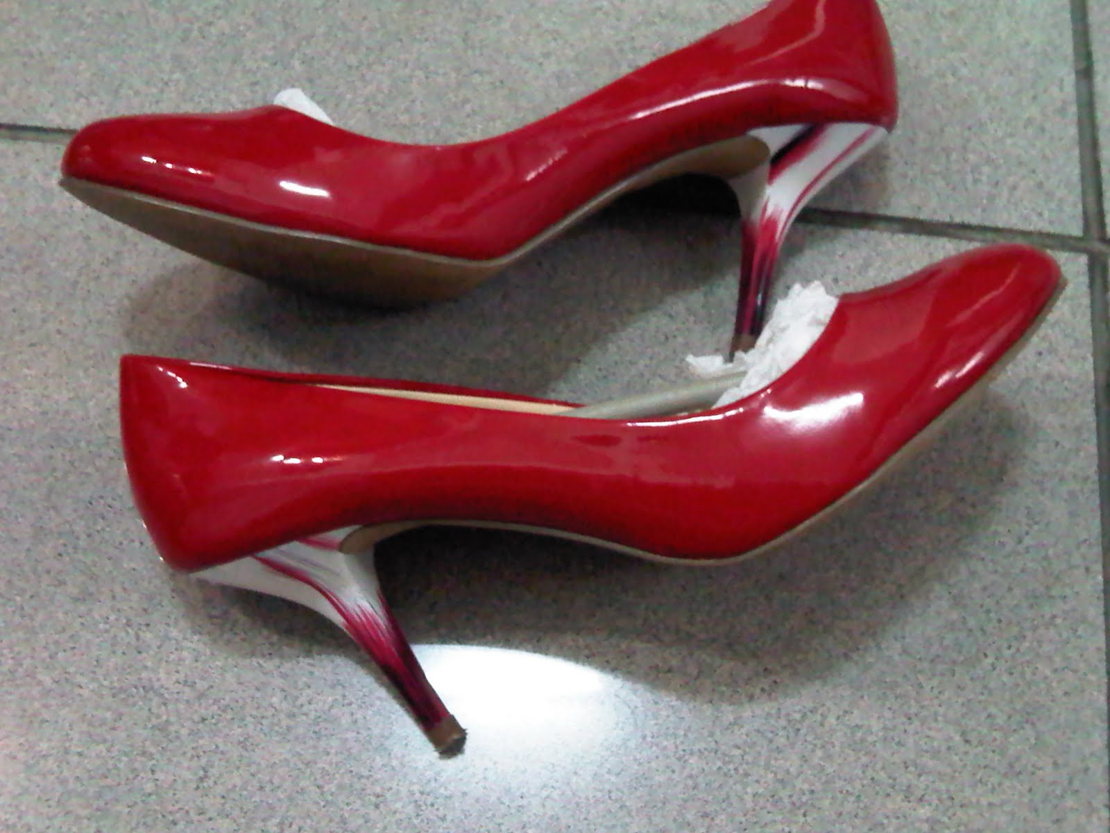 83e6b3855b55 Red Sexy Shoes. Red Charles an Keith.