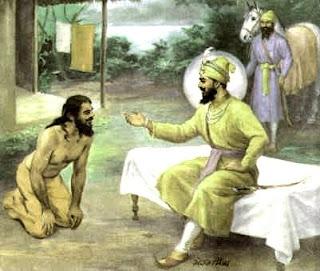 Image result for banda bahadur and guru gobind singh