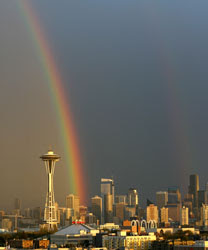 Seattle: magical rainbow fantasy land