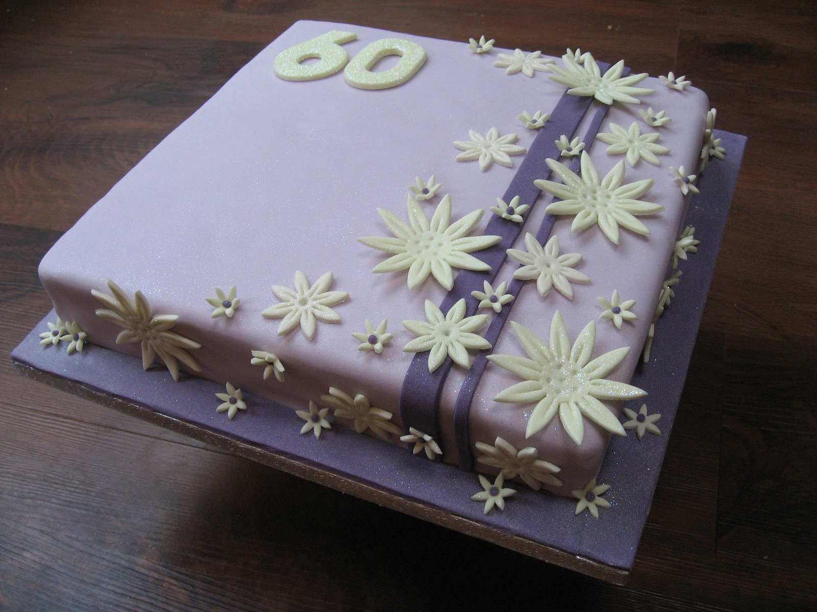 Sugarbuttons 60th Birthday Cake