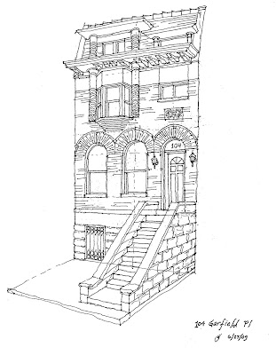 Park Slope Sketch 104 Garfield Place