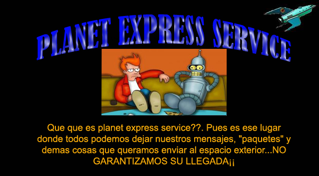 PLANET EXPRESS SERVICE