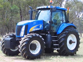 HeavyMachineries: NEW HOLLAND TG210 4WD 210 HP TRACTOR WITH