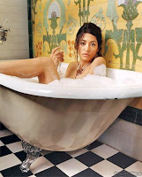 Entirely gratuitous picture of Osama bin Laden's niece Wafah Dufour. No reason. No reason at all.