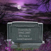 From the Spooky Times gravestone generator - http://www.spookytimes.com/gravestone