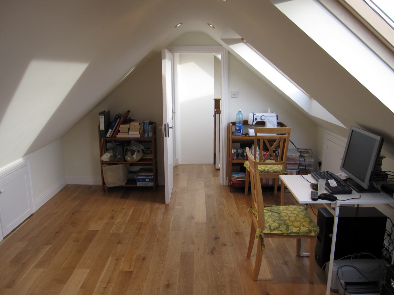 P 233 Itseoga Before And After Pictures The Attic Conversion