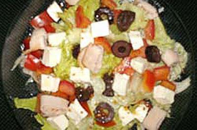 Receita Massas, Salada Fria de Massa