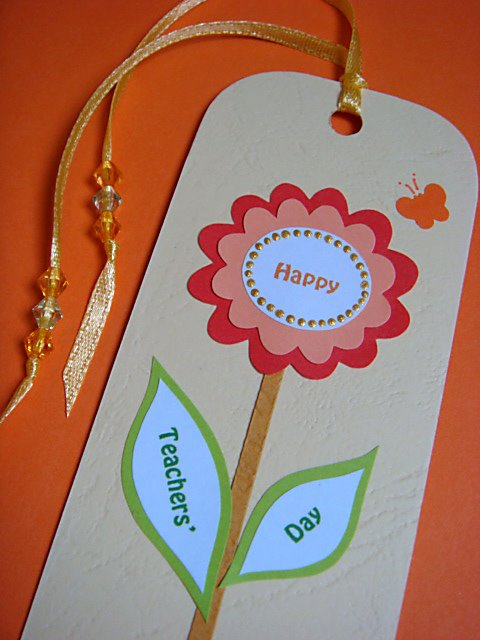 anilza beads  teachers day bookmarks