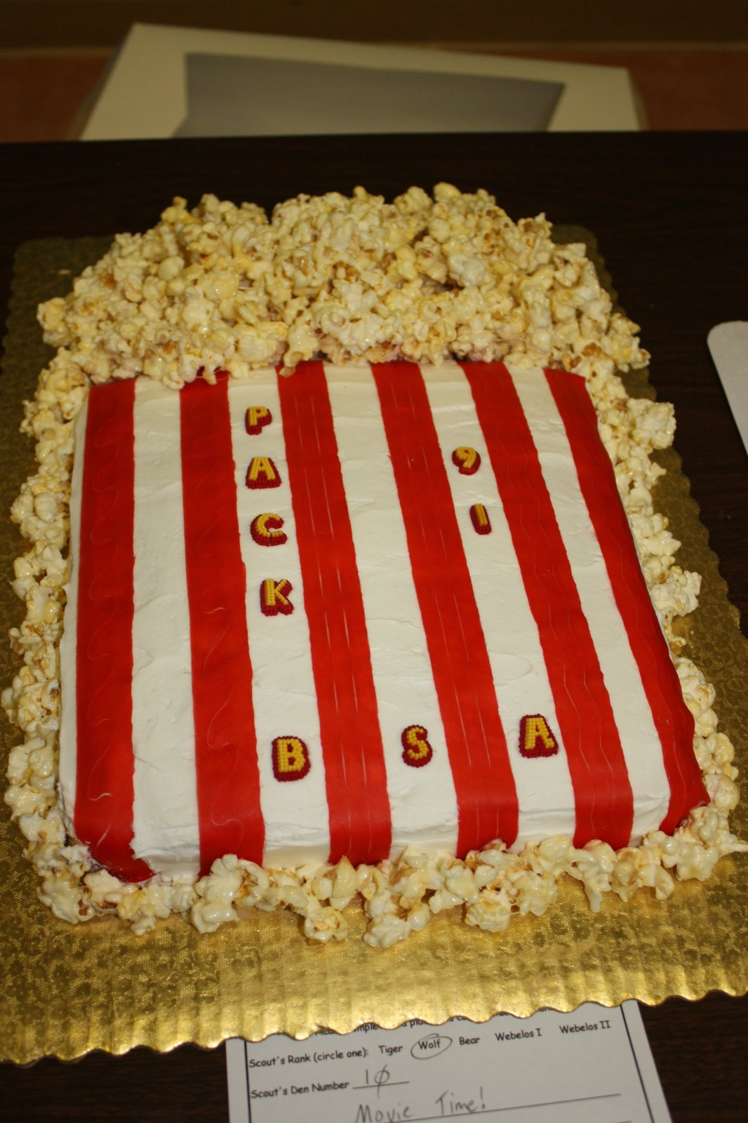Home Is Where My Story Begins Cub Scout Cake Bake And