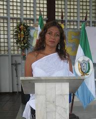 nelly buitrago jefe de prensa de la administracion municipal de Otanche