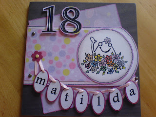 födelsedagskort 18 Lenas blogg: födelsedagskort födelsedagskort 18