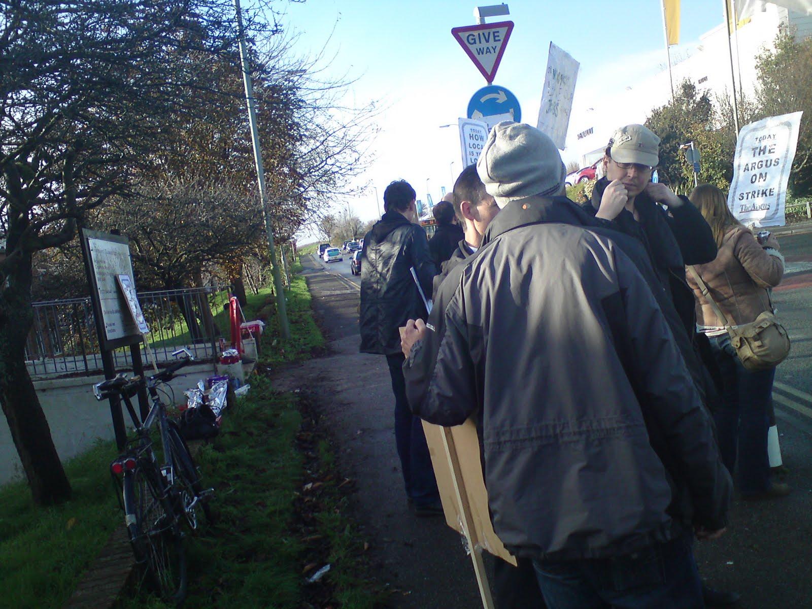 Tony Greenstein Blog: Tony Greenstein's Blog: Brighton & Hove Argus Journalists