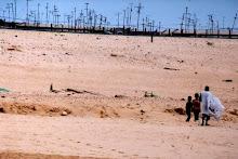 Skyline da cidade do norte da Mauritânia