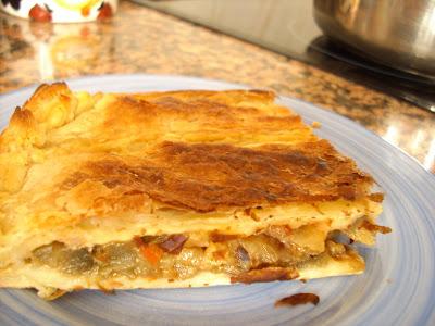 Empanadas de berenjenas