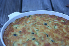 zucchini and corn pudding