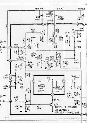 MATRIXSYNTH: Roland SH-5 Schematics via Mike Peake