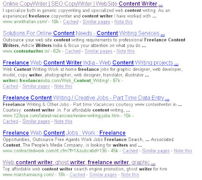 Content Writer Woo Hoo