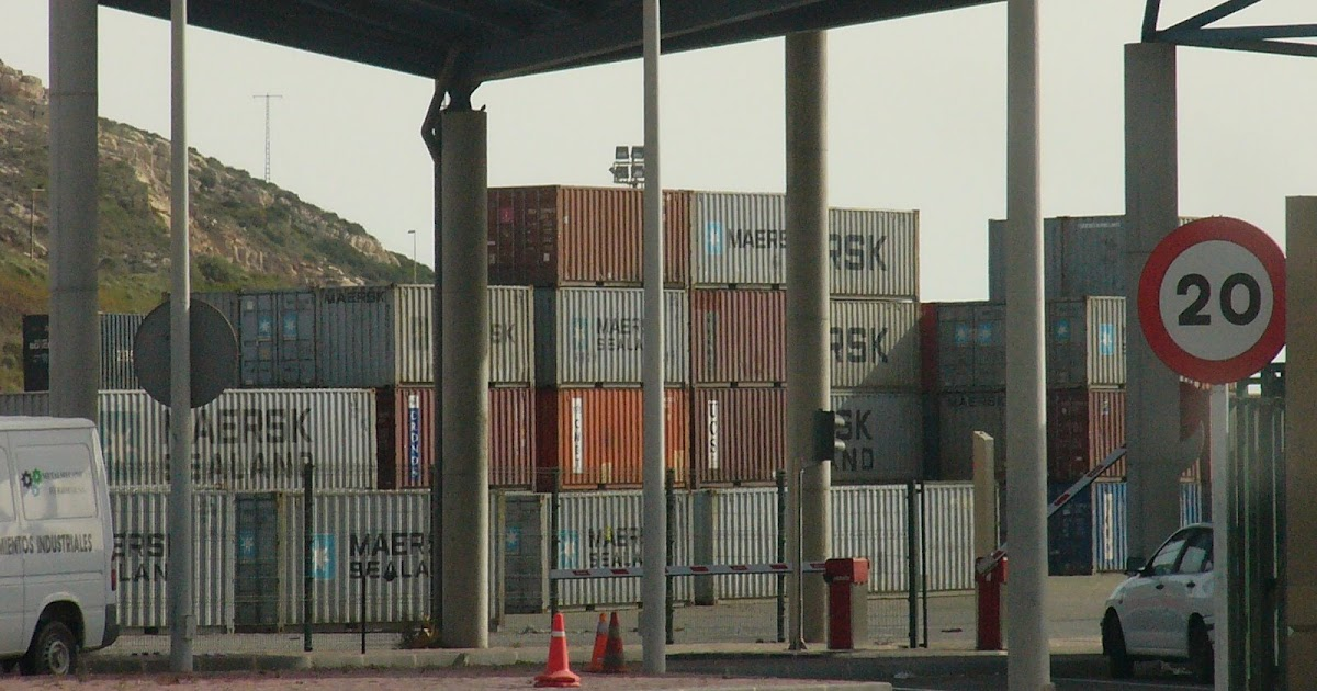 Murcia confidencial el puerto de cartagena est saturado for Almacenes poveda