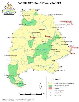 Harta Romaniei In Fotografii Zona Putna Vrancea