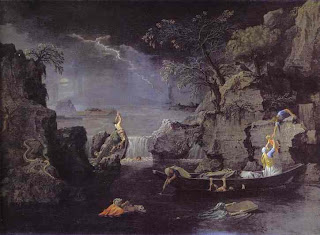 Winter: The Deluge by Poussin