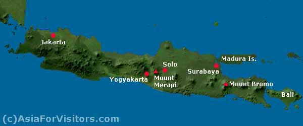 be a GEOGRAPH Fisiografi Umum Pulau Jawa