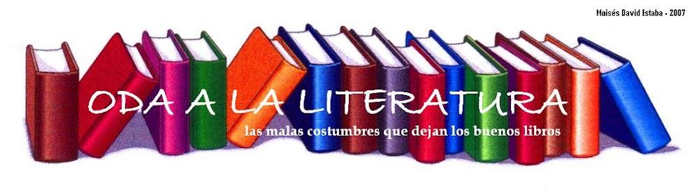 Oda a la Literatura