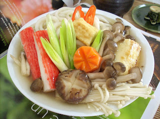 The modern vegetarian recipes yasai udon with dashi sauce - The modern vegetarian kitchen ...