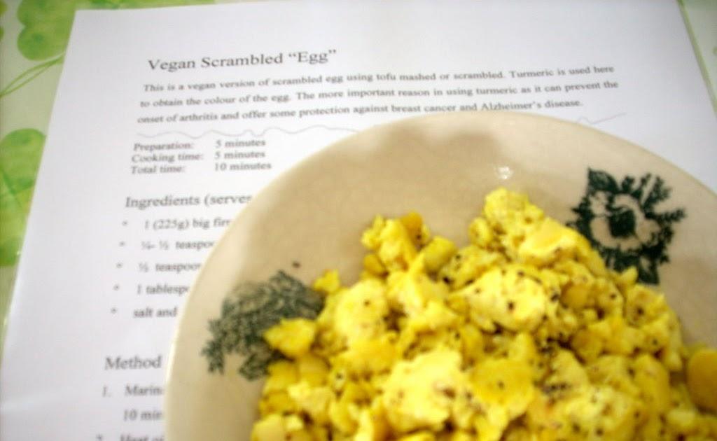 The modern vegetarian recipes vegan scrambled egg - The modern vegetarian kitchen ...