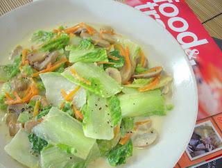 The modern vegetarian recipes creamy cabbage with - The modern vegetarian kitchen ...