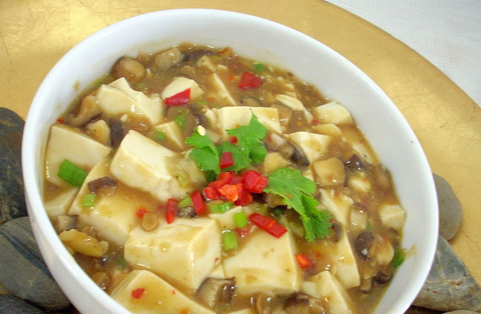 The modern vegetarian recipes ma po tofu - The modern vegetarian kitchen ...
