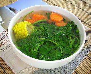 The modern vegetarian recipes quick watercress soup - The modern vegetarian kitchen ...