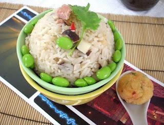 The modern vegetarian recipes bamboo shoot rice - The modern vegetarian kitchen ...