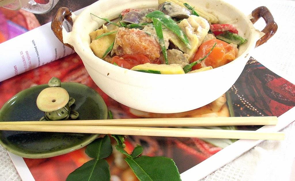 how to make vegetarian thai green curry