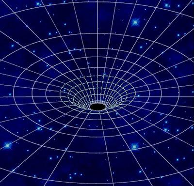 Spazio tempo del buco nero