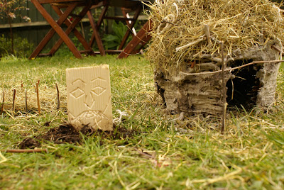 A Soulful Life Mini Celtic Wattle And Daub Roundhouse