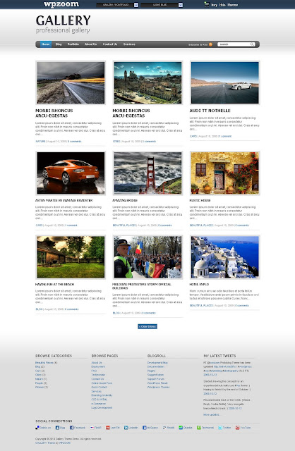 Gallery - Photography Wordpress Theme by WPZoom Free Download.