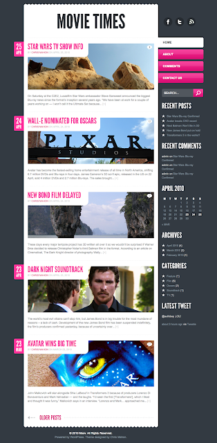 Moov Wordpress Theme by ThemeForest Free Download.