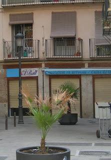 El Rall, tendal en valencià