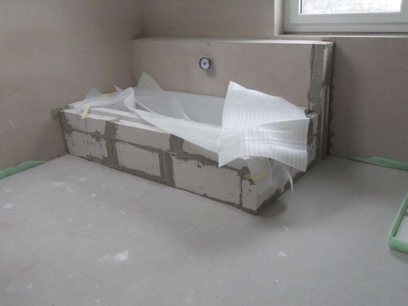 losert s traum vom haus tag 48 bagger und badezimmer. Black Bedroom Furniture Sets. Home Design Ideas