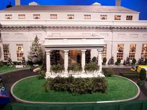 Nuestras miniaturas la casa blanca en miniatura - Ala oeste casa blanca ...